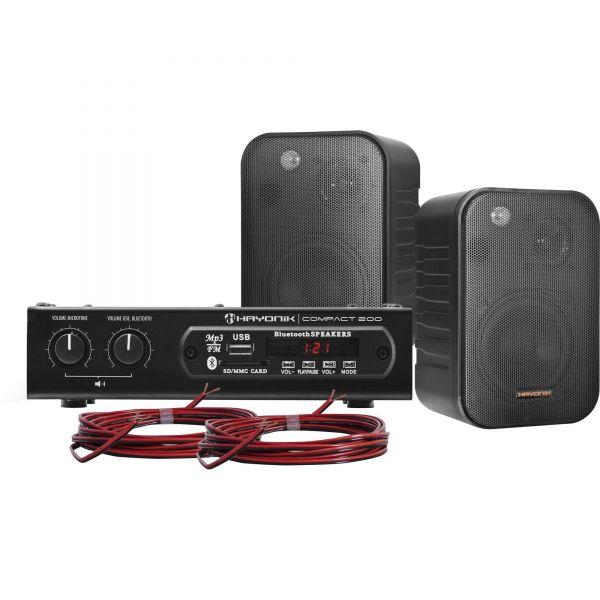 Amplificador Hayonik Compact 200w