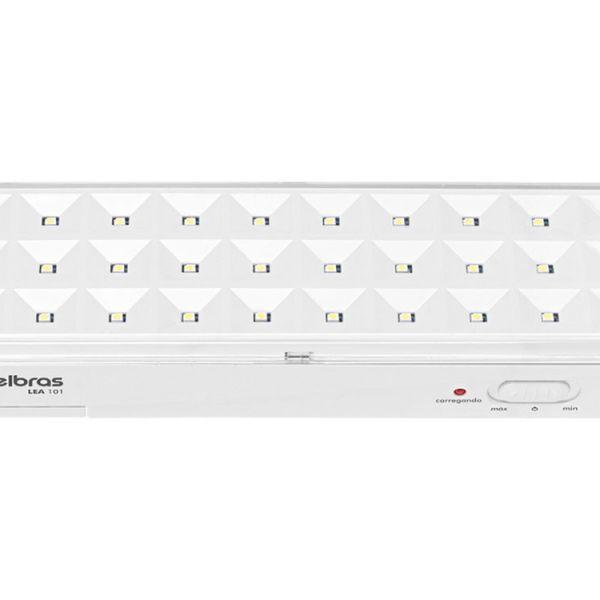 Luminária de Emergência 100 Lumens